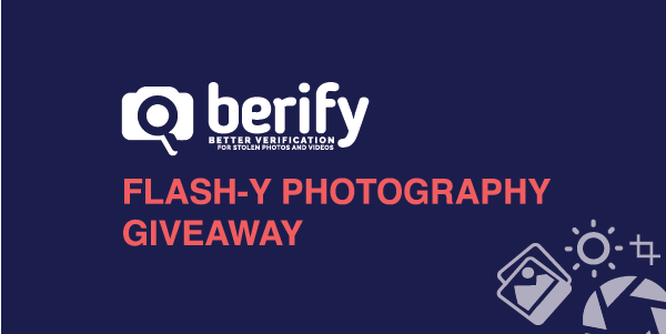 Enter Berify's Flash-y Photography Giveaway!