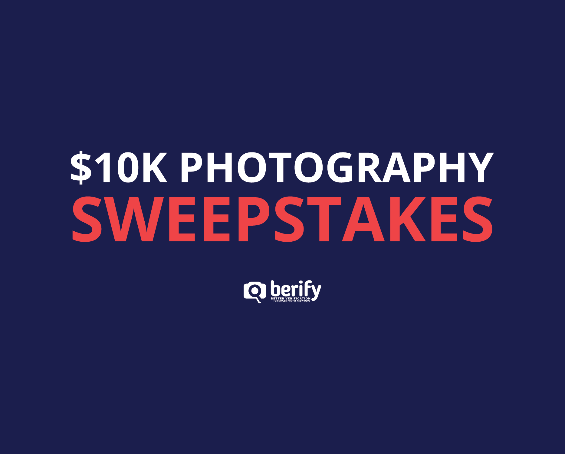 $10K Photography Sweepstakes with a Famous Photographer!