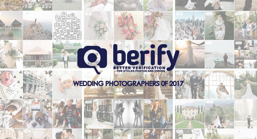 7 Best Instagram Wedding Photographers of 2017