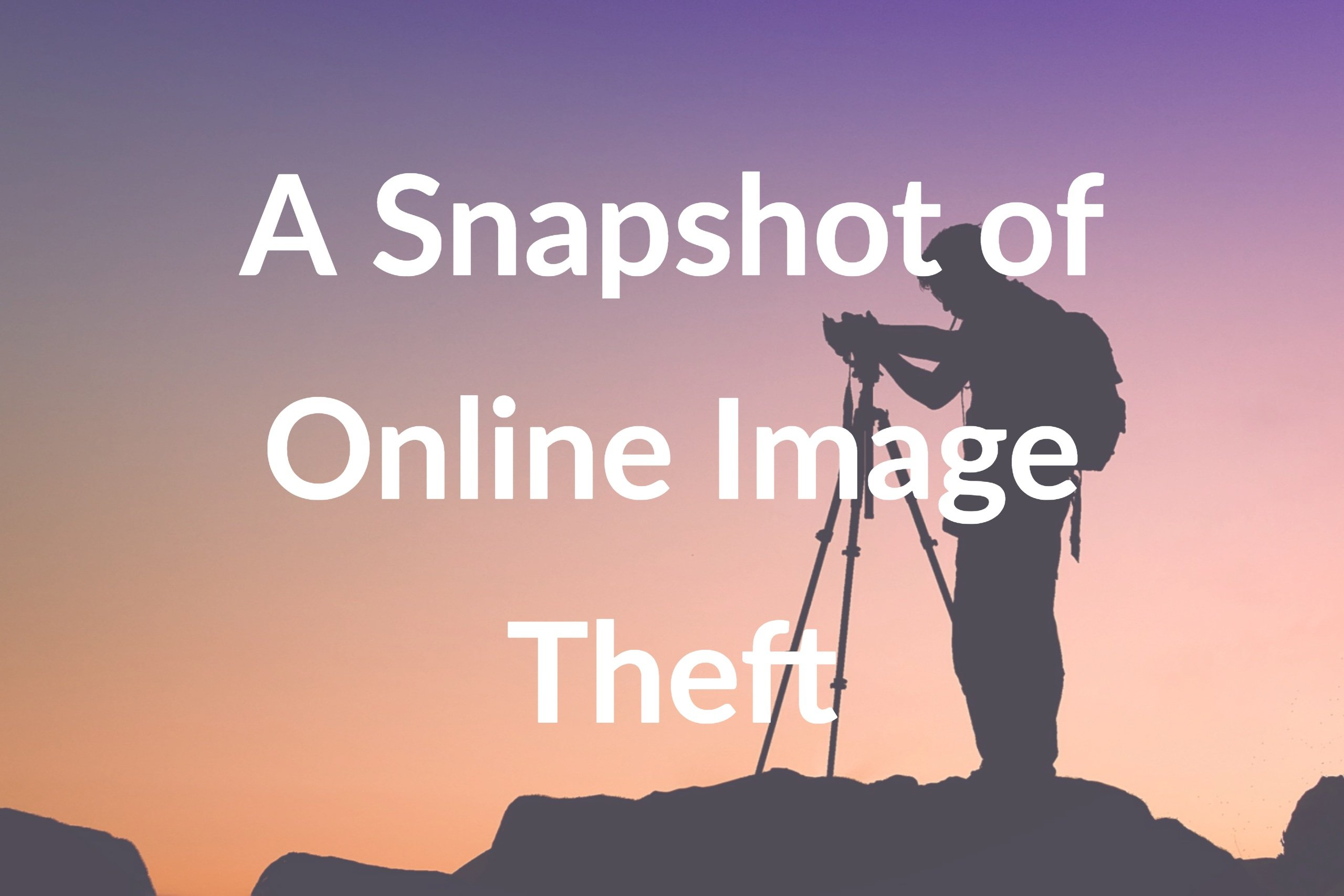 [Infographic] A Snapshot of Online Image Theft